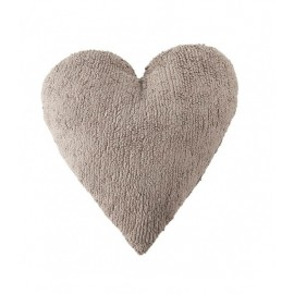 COUSSIN COEUR - TAUPE