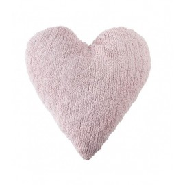 COUSSIN COEUR - ROSE