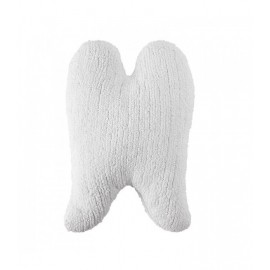COUSSIN AILE D'ANGE - BLANCHE