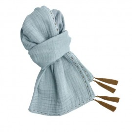 KID SCARF ECHARPE SWEET BLUE
