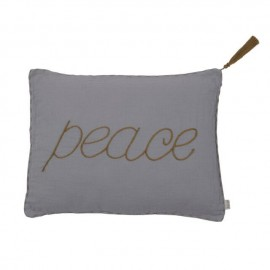 COUSSIN STONE GREY 40X30 CM - PEACE