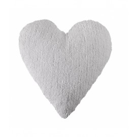 COUSSIN COEUR - BLANC - LORENA CANALS