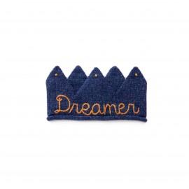 DREAMER CROWN - INDIGO/GOLD - OEUF NYC
