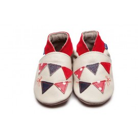 CHAUSSONS BUNTING BEBE - INCH BLUE