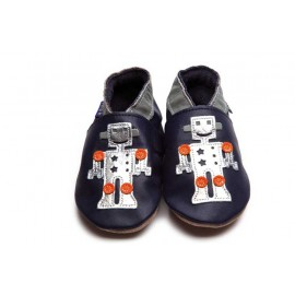CHAUSSONS ROBOT BEBE - INCH BLUE