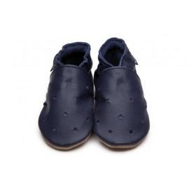 CHAUSSONS BEBE MILKY WAY - NAVY - INCH BLUE