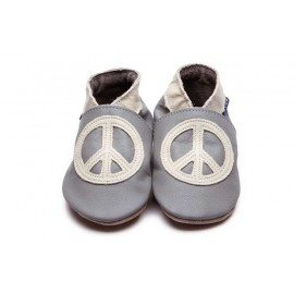 CHAUSSONS PEACE BEBE - INCH BLUE