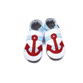 CHAUSSONS SAILOR BEBE - INCH BLUE