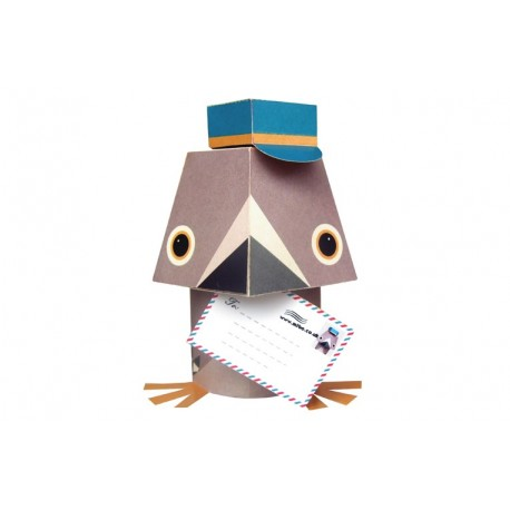 PAPER TOYS - PIGEON VOYAGEUR