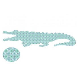 STICKER CROCODILE