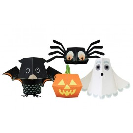PAPER TOYS – THE HALLOWEEN TEAM