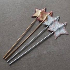 STAR SILVER & PINK WAND - NUMERO 74