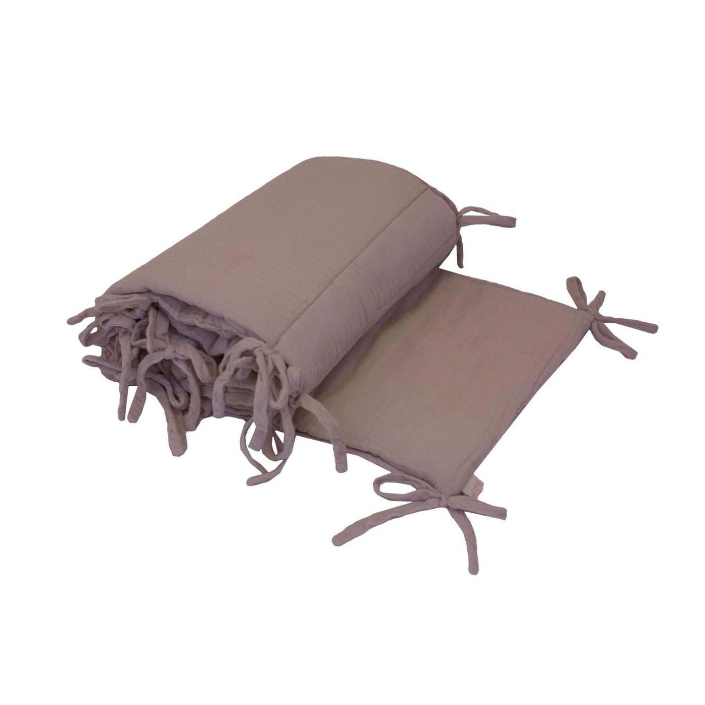 tour de lit vieux rose yadayada. Black Bedroom Furniture Sets. Home Design Ideas