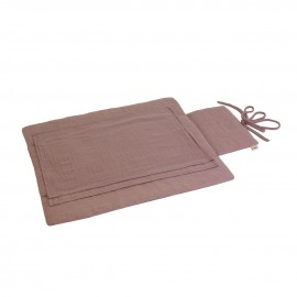 TRAVEL CHANGING PAD DUSTY PINK - NUMERO 74