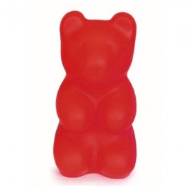 LAMPE OURSON ROUGE
