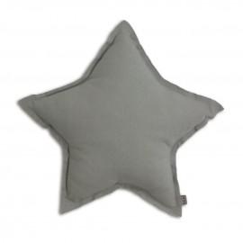 SILVER GREY STAR CUSHION - NUMERO 74