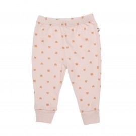 LEGGINGS WELCOME ROSE ET CHAT DORE