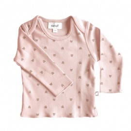 PINK AND GOLD CAT - LONG SLEEVE WELCOME TEE