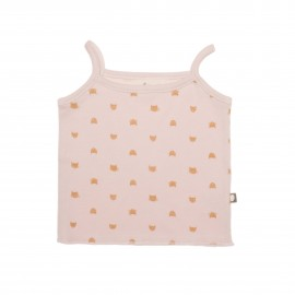 PINK AND GOLD CAT WELCOME TANK TOP