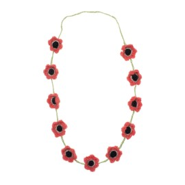FLOWER NECKLACE - OEUF NYC
