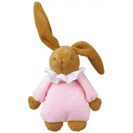 BUNNY MUSICAL PINK - 25 CM