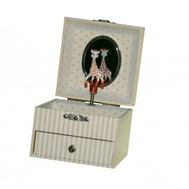 MUSICAL CUBE BOX SOPHIE LA GIRAFE© - FIGURINE SOPHIE LA GIRAFE