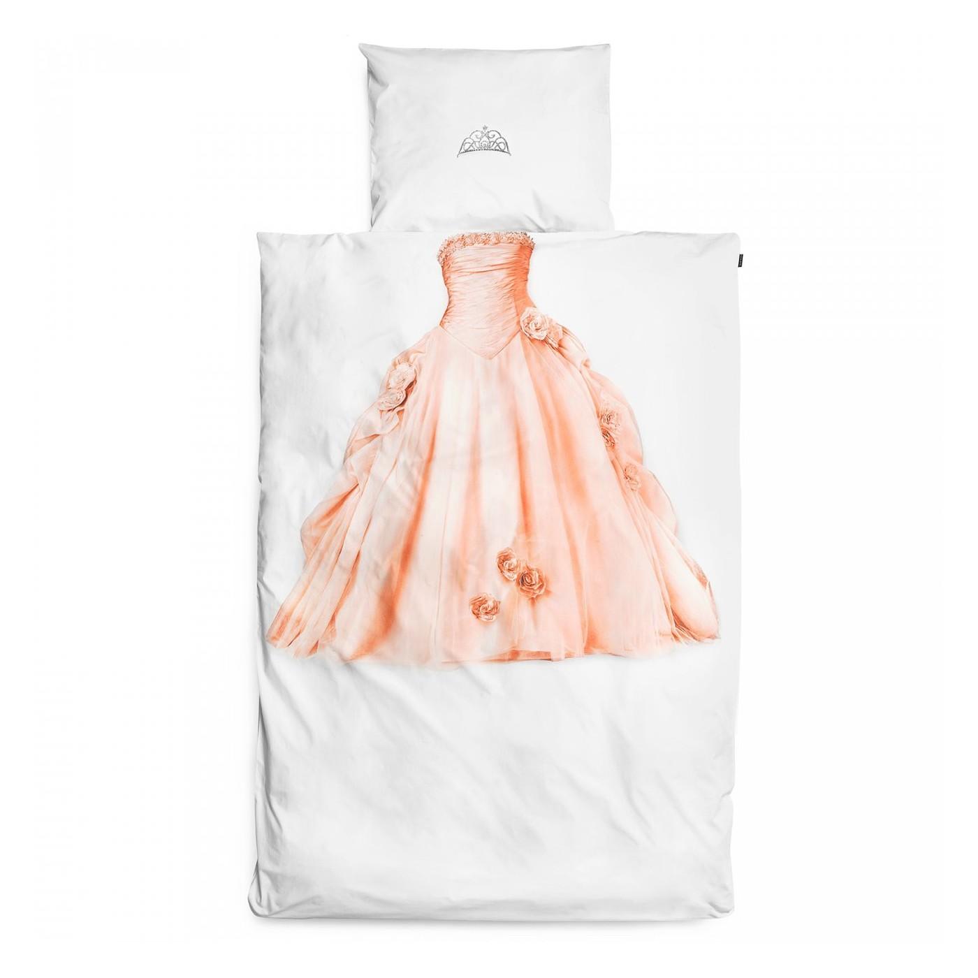 housse de couette princesse 140x200 yadayada. Black Bedroom Furniture Sets. Home Design Ideas