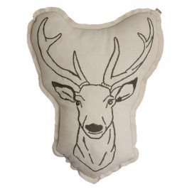 COUSSIN ANIMAL CERF