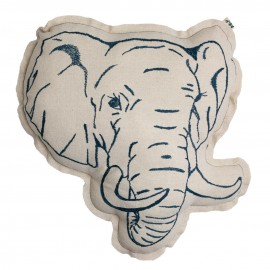 COUSSIN ANIMAL ELEPHANT - NUMERO 74