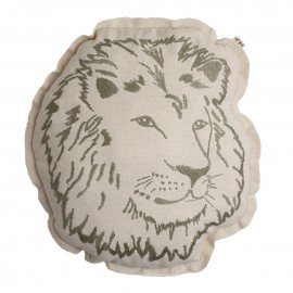 COUSSIN ANIMAL LION