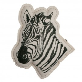 COUSSIN ANIMAL ZEBRE