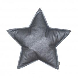 MINI STAR CUSHION GLITTERS GREY - NUMERO 74