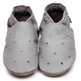 CHAUSSONS ENFANT MILKY WAY - GRIS - INCH BLUE