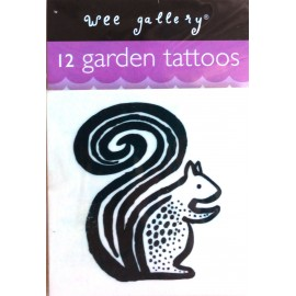 GARDEN TATTOOS SET OF 12