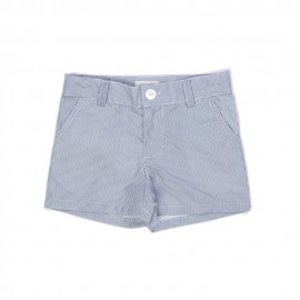 SHORT A RAYURES TENNIS