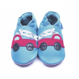 CHAUSSONS FIRETRUCK BEBE - INCH BLUE