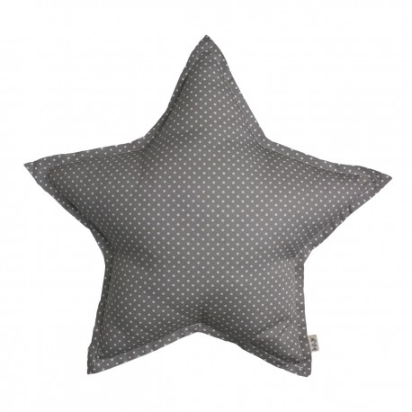 GRAND COUSSIN ETOILE MED DOTS GRIS