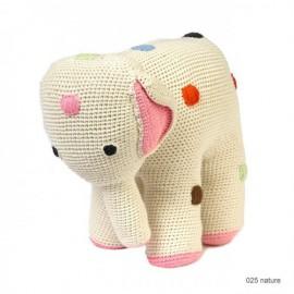 MAMA ELEPHANT 31 CM- NATURAL