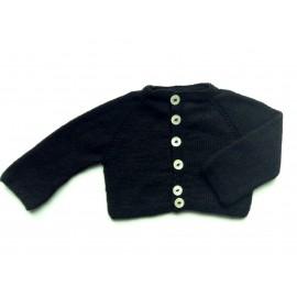 BABY CARDIGAN - BLACK CROW - 1Y