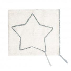 STAR GREY SUMMER BLANKET - MEDIUM