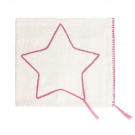 STAR PINK SUMMER BLANKET - MEDIUM