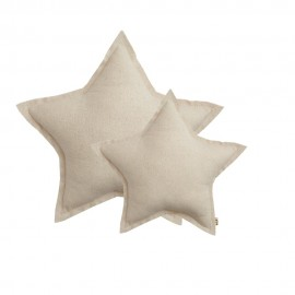 STAR CUSHION SPARKLING TULLE - NATURAL - NUMERO 74