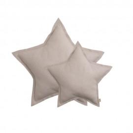 STAR CUSHION SPAKLING TULLE - POWDER