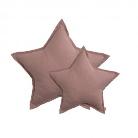 STAR CUSHION SPARKLING TULLE - DUSTY PINK - NUMERO 74