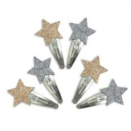 6 STARS HAIRCLIPS - NUMERO 74