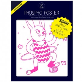 PHOSPHO POSTER - LE LAPIN BUNNY