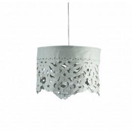 LANA LAMPE LARGE - GRIS ARGENT