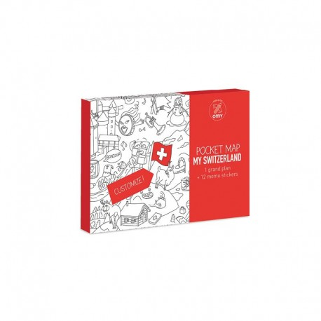 POCKET MAPS - MY SWITZERLAND