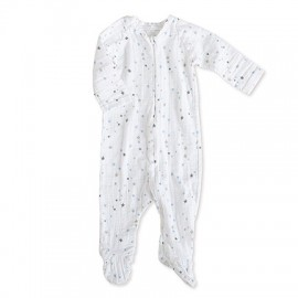 PYJAMA A ZIP MANCHES LONGUES - NIGHT SKY - ADEN & ANAIS