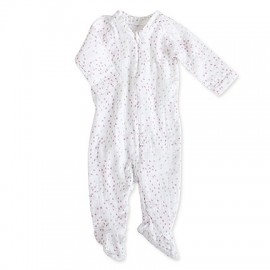 PYJAMA A ZIP MANCHES LONGUES - LOVELY - ADEN & ANAIS